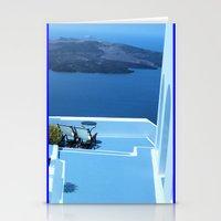 greek Stationery Cards featuring Greek Holiday by Brian Raggatt