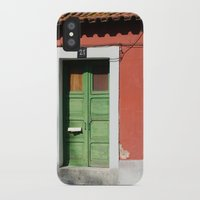 portugal iPhone & iPod Cases featuring Portugal, color by Sébastien BOUVIER