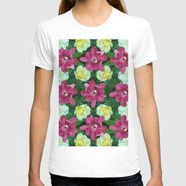Fantasy Garden Pattern T-shirt