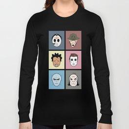 Monster Heads Long Sleeve T-shirt