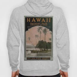 Vintage Hawaii National Park Poster (1919) Hoody