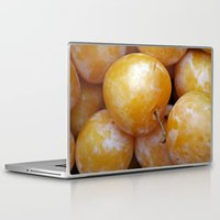 fruit Laptop & iPad Skins featuring Fruit by Jody Edwards Art