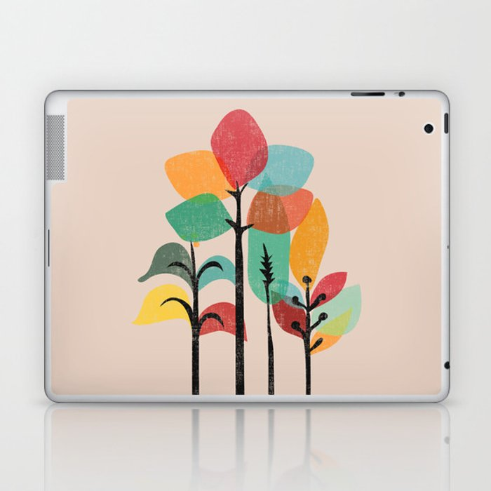 Tropical Groove Laptop & iPad Skin