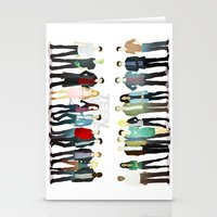 teen wolf Stationery Cards featuring Teen Wolf Cast by Puckboum