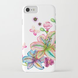 flower Lilly iPhone Case