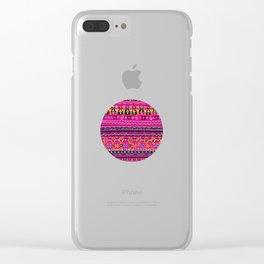 Carpet II Clear iPhone Case