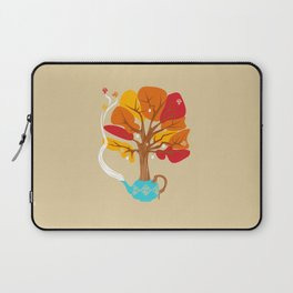 Tea Leaves Laptop Sleeve