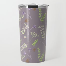 Wispy Cottage Garden 2 Travel Mug