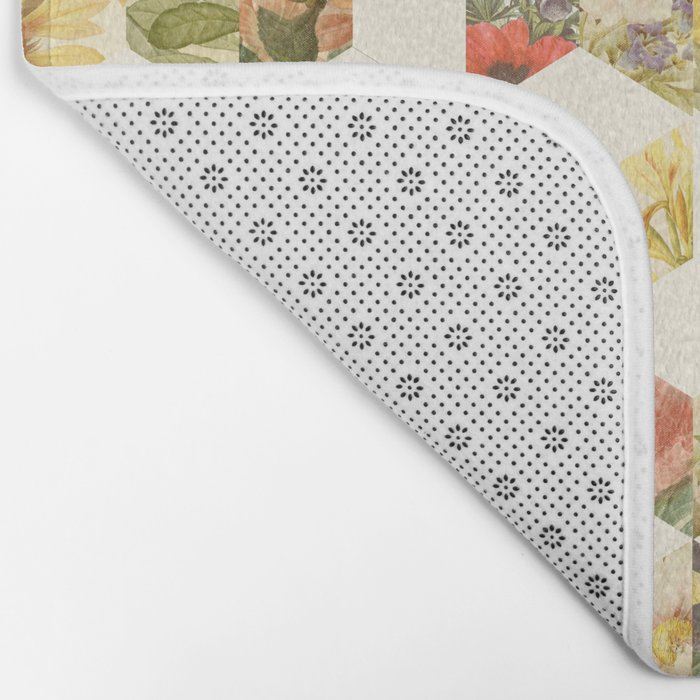 Keziah - Flowers Bath Mat