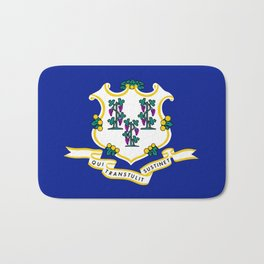 State Flag of Connecticut Bath Mat