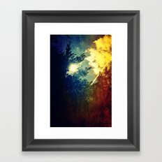 Dreaming in Color (of My First Flight) Framed Art Print