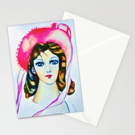 Pinkie remix Stationery Cards