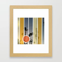 Boardwalk Nights Framed Art Print