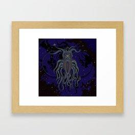 Etheric Framed Art Print