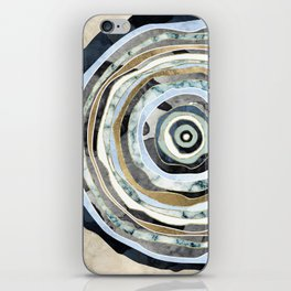 Wood Slice Abstract iPhone Skin