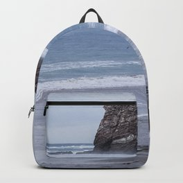 """""""Les Deux Jemeaux"""" of Hendaya - The two twins Backpack"""