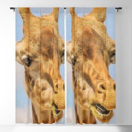 Extraordinary animals-Giraffe Blackout Curtain