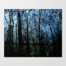 Through Canvas Print