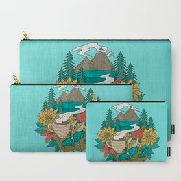 Pacific Northwest Coffee and Nature Carry-All Pouch