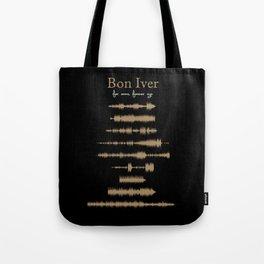 For Emma, Forever Ago Tote Bag