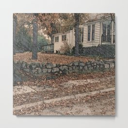 The Heights of Autumn Metal Print