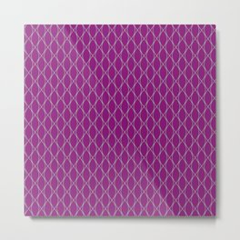 Winter 2018 Color: Orchid Blood on Diamonds Metal Print