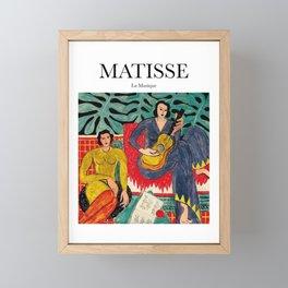 Matisse - La Musique Framed Mini Art Print