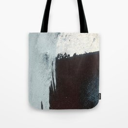 Like A Gentle Hurricane [3]: a minimal, abstract piece in blues and white by Alyssa Hamilton Art Tote Bag