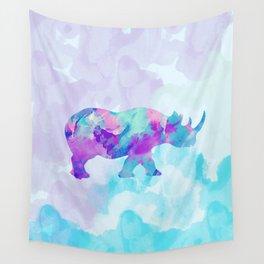 Abstract Rhino B Wall Tapestry