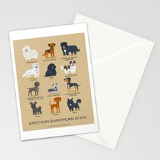 EASTERN EUROPEAN DOGS Stationery Cards