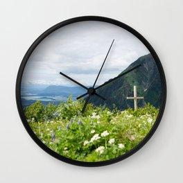 Mount Roberts, Alaska II Wall Clock