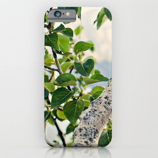 Under the Green Tree iPhone & iPod Case