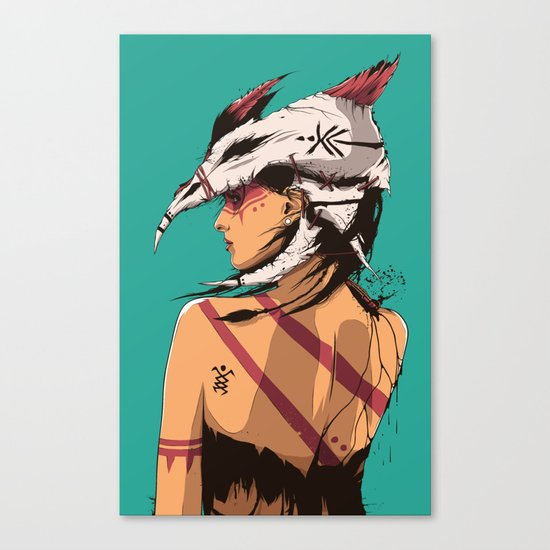 Bone Collector Canvas Print