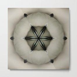 Space Pillow Metal Print