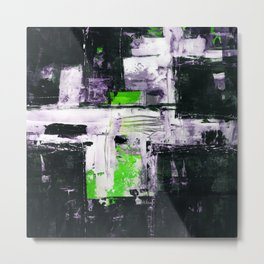 Transcendental Composition No.1d by Kathy Morton Stanion Metal Print