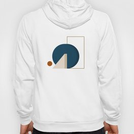 Abstrato 03 // Abstract Geometry Minimalist Illustration Hoody