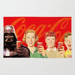 Darth Vader in Coca Cola Advertising Rug