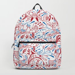 Swedish birds and plants Backpack