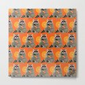 Cool raccoon pattern by linoillustration