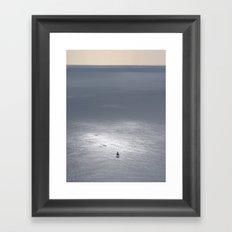 Sail. Framed Art Print