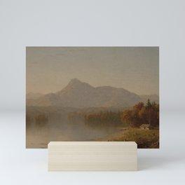 Sanford Robinson Gifford - Mountain Landscape Mini Art Print