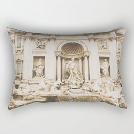 Fontana di Trevi Rectangular Pillow