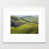 diablo Framed Art Prints featuring Diablo Hills by Ryan Fernandez Photography