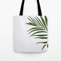 fern Tote Bags featuring Fern by Tamsin Lucie