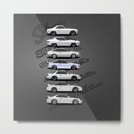 Silvia Generations Metal Print