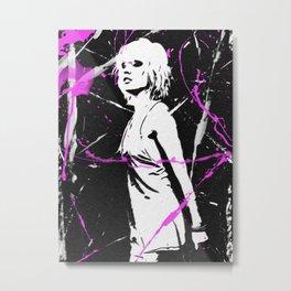Debbie Harry Punk'D Metal Print