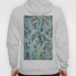 Sunken Forest marbleized print Hoody
