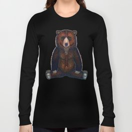 Blissed Out Bear Long Sleeve T-shirt