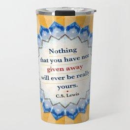 Given Away Travel Mug