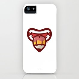 Pencil Mouth iPhone Case
